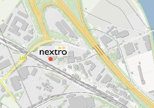 nextro GmbH Map
